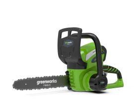Láncfűrész akkumulátoros Greenworks G40CS30 40v, 30 cm vágáshossz, akku és töltő nélkül