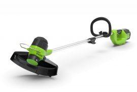 Bozótvágó Greenworks G40LT 40v akkumulátoros, akku és töltő nélkül