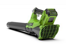 Lombfúvó akkumulátoros Greenworks G40AB 40v, akku és töltő nélkül