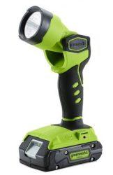 Akkumulátoros lámpa Greenworks G24VL 24 v, akkumulátor és töltő nélkül